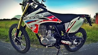 обзор на мотоцикл Kayo T2 2015