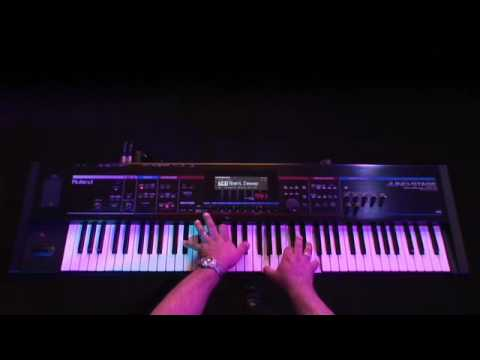 Juno-Stage (4/6) Synth-sounds (Leads, Bass and Pad)