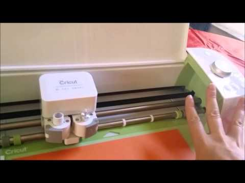 Cricut Explore Step-by-Step Step 1: Linking cartridges and Cutting your first image
