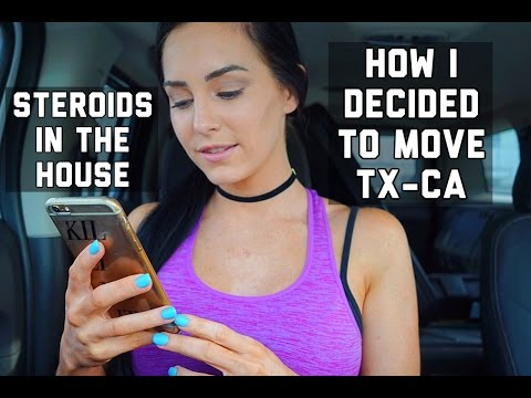 STEROIDS in the house | My Move from Texas to Cali | Q&A Part 2