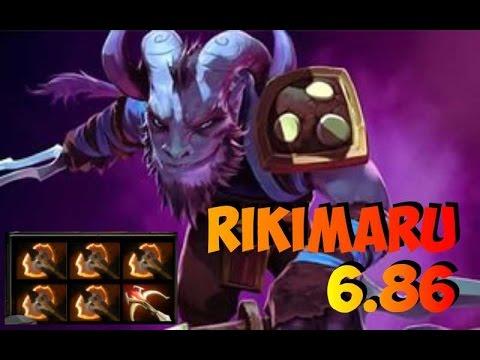 видео: Вся суть игры за Рики после патча 6.86 в одном видео. dota 2