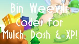 Video BINWEEVILS: CODES FOR MULCH, DOSH & XP! download MP3, 3GP, MP4, WEBM, AVI, FLV Juni 2018