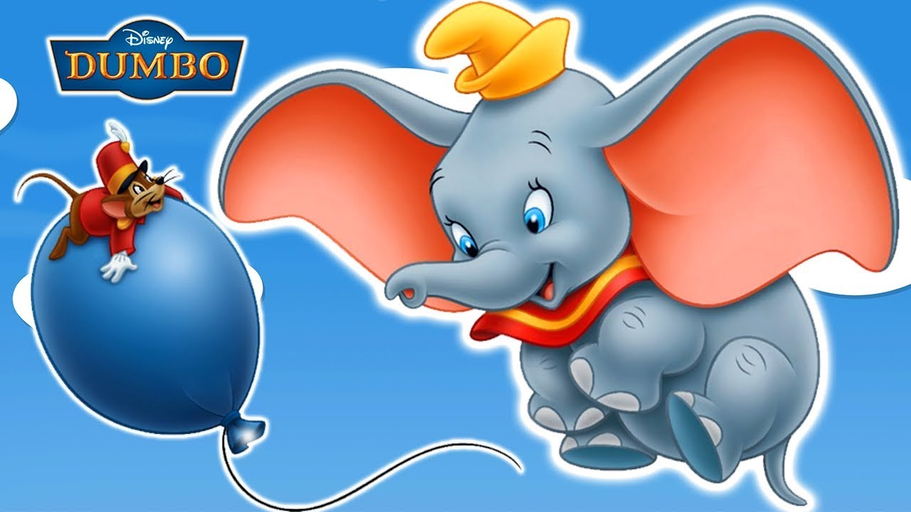 It is an image of Nifty Dumbo the Elephant Images