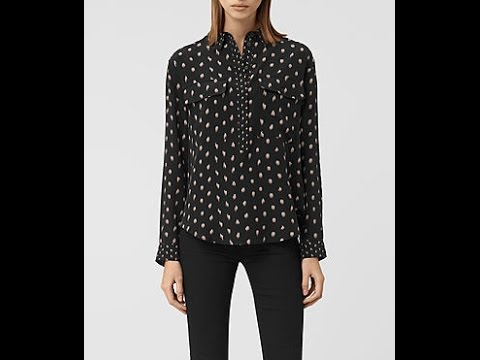 Women's black shirts