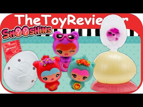 Smooshins Surprise Maker Starter Kit Squishy Girls Dolls Eggs Unboxing Toy Review by TheToyReviewer