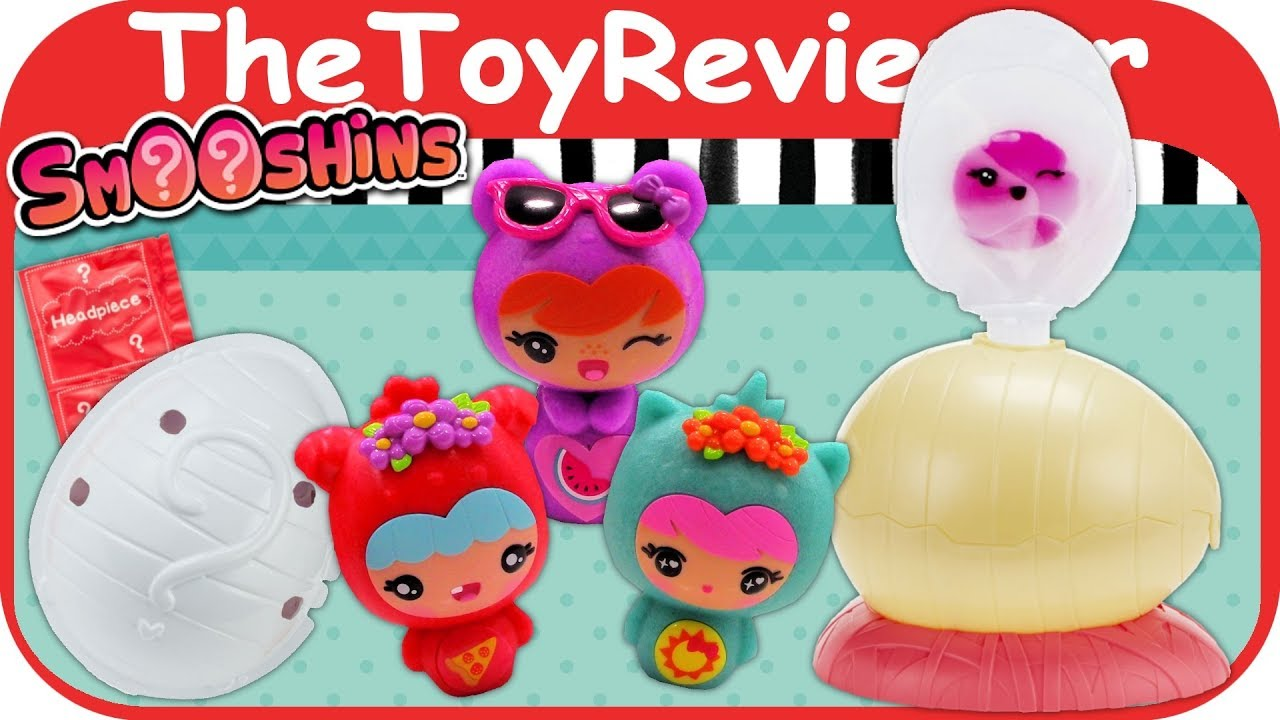 Squishy Maker Toys R Us : Smooshins Surprise Maker Starter Kit Squishy Girls Dolls Eggs Unboxing Toy Review by ...