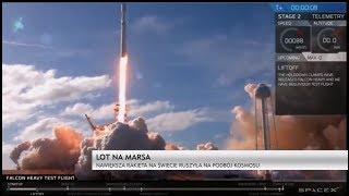 Finał Dnia: Falcon Heavy rusza na podbój kosmosu
