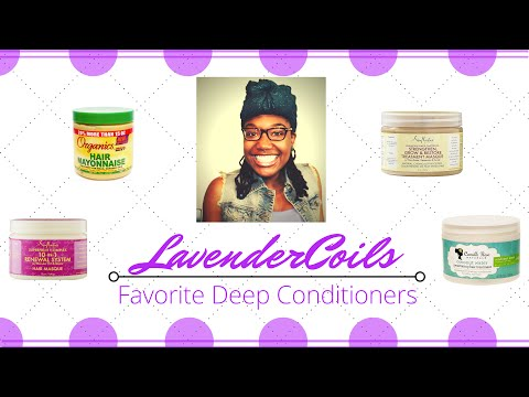 Favorite Deep Conditioners - Summer 2015 | LavenderCoils