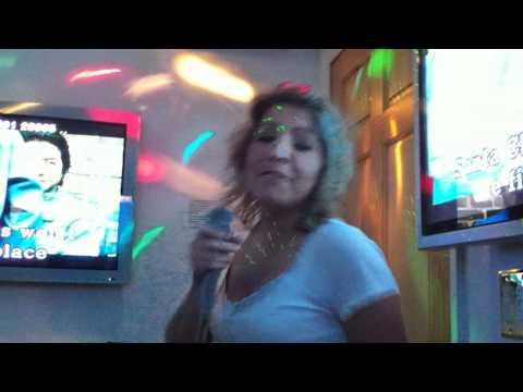 Tash & Shannon sing karaoke