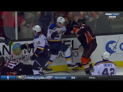 Vladimir Tarasenko vs Ryan Kesler Jan 8, 2016