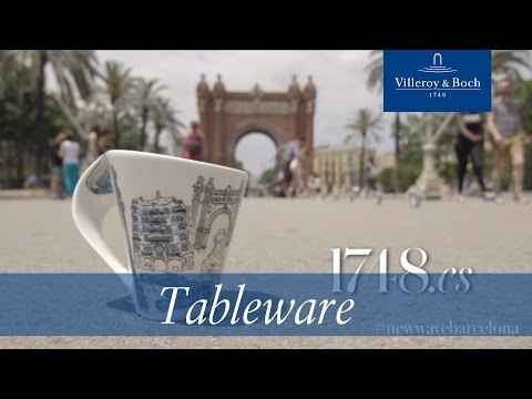 Tableware design - New Wave Barcelona | Villeroy & Boch