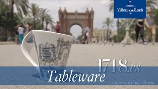Tableware design - New Wave Barcelona | Villeroy & Boch