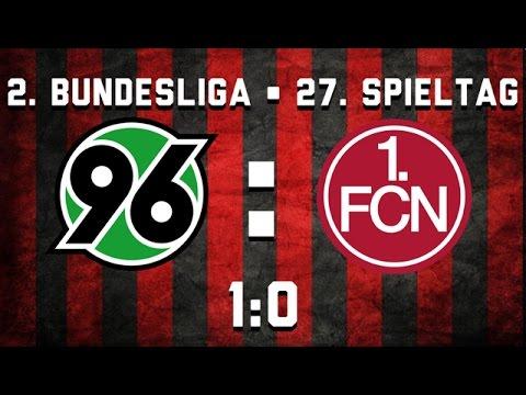 27. Spieltag • Hannover 96 : 1. FC Nürnberg