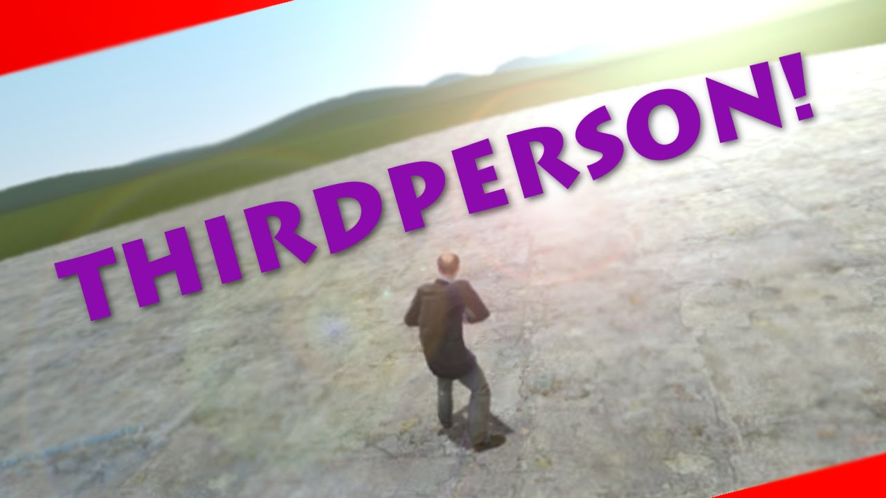 How to Toggle Thirdperson on Garry's Mod!