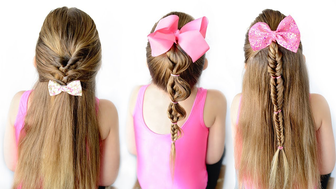 3 - 5 minute hairstyles easy little