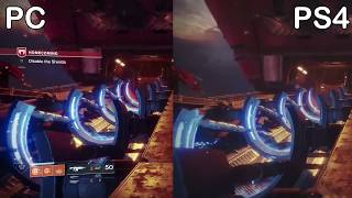 Destiny 2 | pc vs. ps4 pro graphics comparison