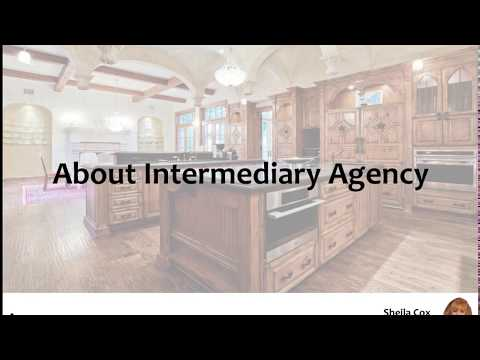 """What is """"Intermediary Agency"""" in Texas?"""