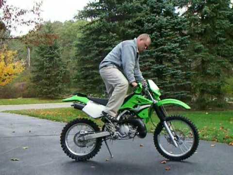 Kawasaki KDX 200 - YouTube