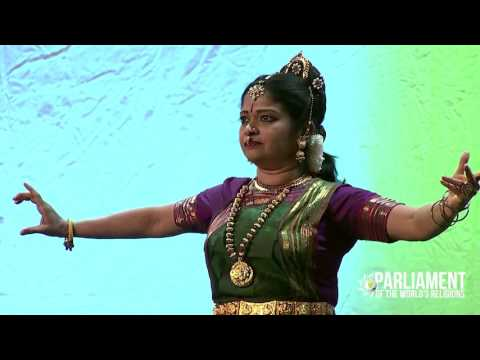 Lata Krishnaswamy Dances Beautifully at the Parliament of the World