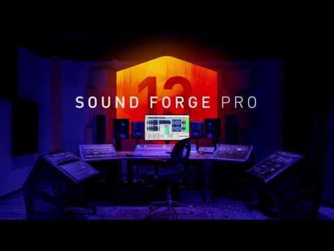 SOUND FORGE Pro 13 – Advanced Recording, Audio Editing & Mastering