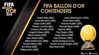 candidatos Nominados al balon de oro 2014-2015 - Los 23 candidatos al Balón de Oro 2014-2015