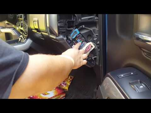 (Requested video) removing fuse panel covers on 2015 2500 Silverado