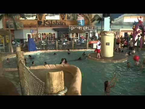 Raw video: Fun at Kalahari