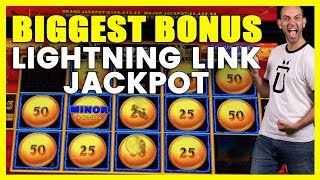 ☝️BIGGEST BONUS @ ⚡Lightning Link Jackpot🤑HIGH LIMIT ROOM Money Storm🌪️San Manuel Casino ✦ BCSlots