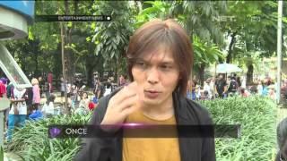 Video Once Mekel Garap Video Klip Terbaru di Tengah Keramaian download MP3, 3GP, MP4, WEBM, AVI, FLV Oktober 2017