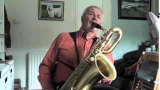 The Very Thought of You - Jazz on Baritone Sax