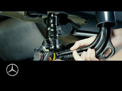 How to install the trailer coupling of your Mercedes-Benz Vito