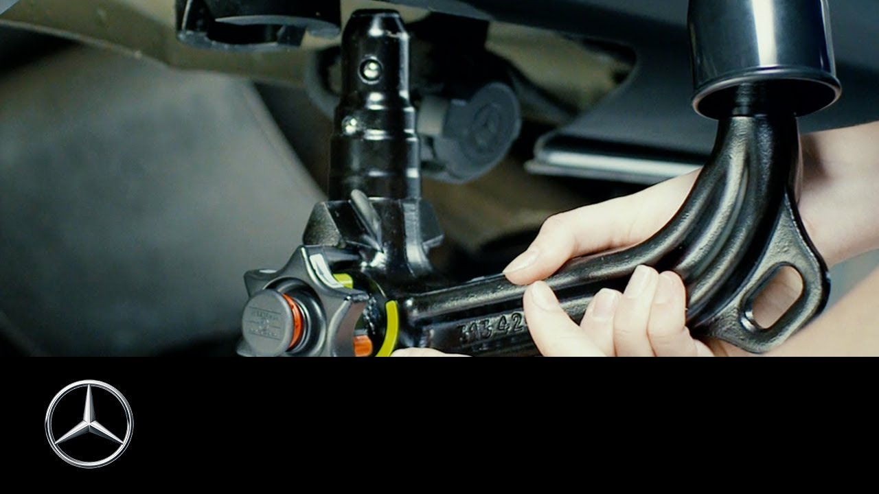 how to install the trailer coupling of your mercedes benz vito [ 1280 x 720 Pixel ]