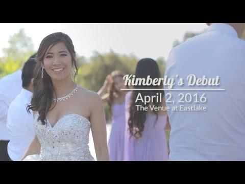 Kimberlys 18th Birthday Debut Film April 2, 2016  Phase V Films