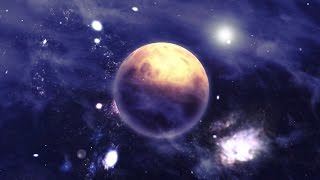 nebulae space scene - backgroundvideo 1