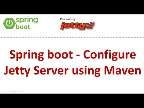 Spring boot - Configure Jetty Server using Maven | Spring