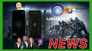 Tencent Publishes Ubisoft Games and Xiaomi Challenges The Razer Phone (Android Gaming News)