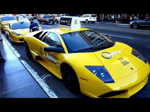 Top Gear Lamborghini Murcielago Usa Taxi Fleet Supercars