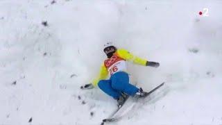 JO 2018 : Ski acrobatique - Femmes. Une compilation des chutes lors des qualifications !