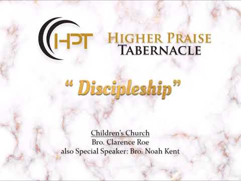 Children's Church | Discipleship | Jan. 31, 2018 | Wednesday
