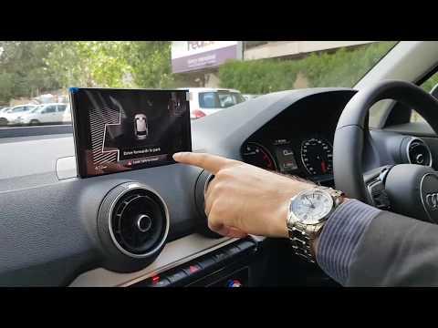 2017 Audi Q2 Autonomous Parking Real World Demo