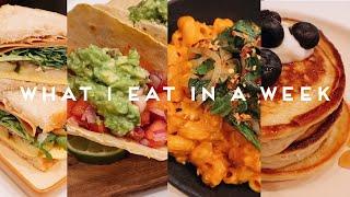 WHAT I EAT IN A WEEK   VEGAN COMFORT FOOD (Quaratine) #002