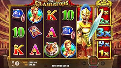 Wild Gladiators Bonus Feature + Super Wilds (BIG WIN)