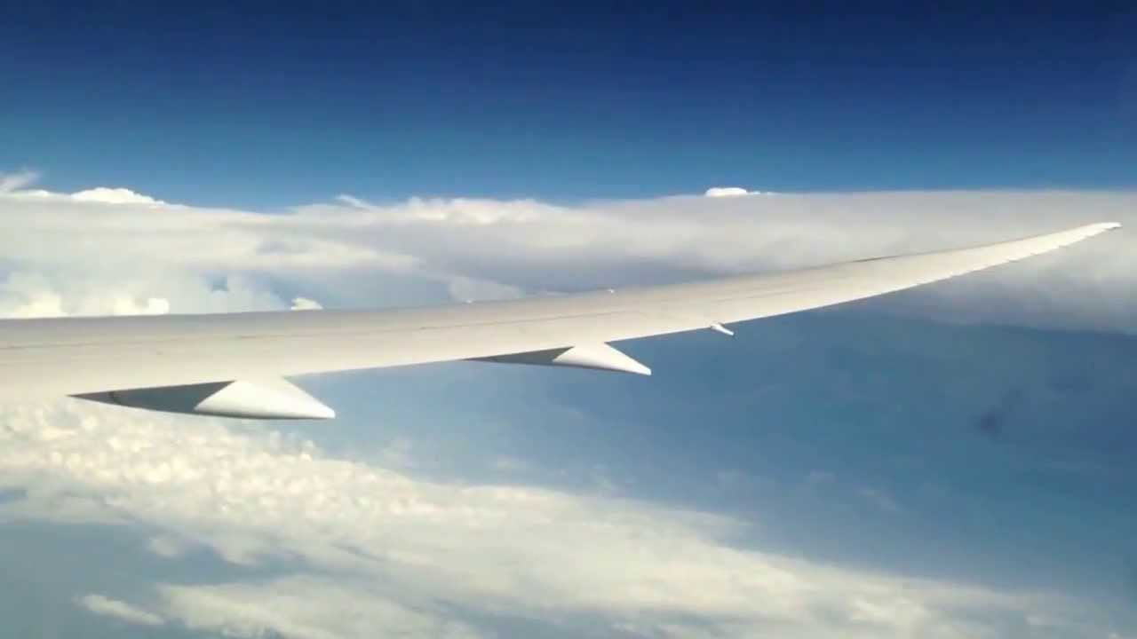 Boeing 787-8 heavy turbulence Wingflex - United Airlines ...