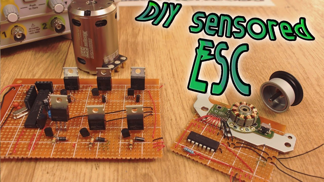 DIY Sensored ESC - full tutorial