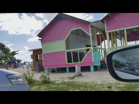 Driving to beach in Antigua vlog #1