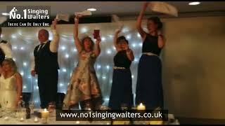 No 1 singing waiters - the quality hotel boldon