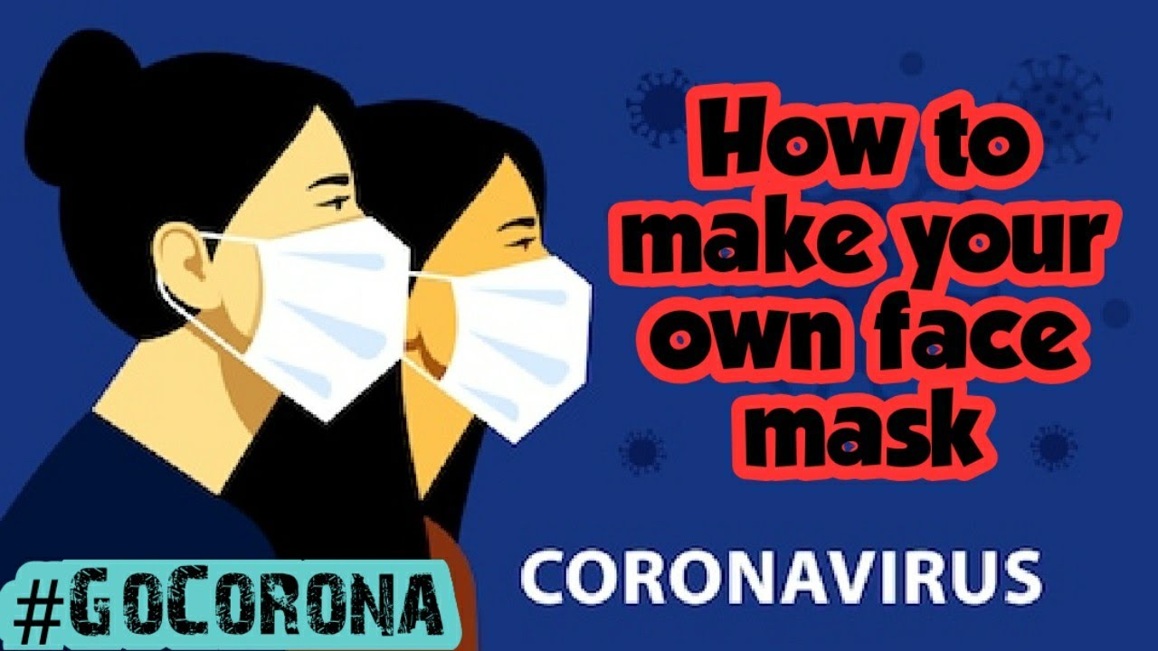 How to make face mask at home/Corona virus/simple face mask/mask DIY