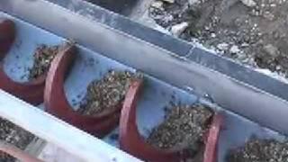 Shaftless spiral conveyor screws