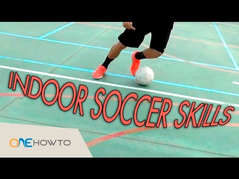 Indoor Soccer Skills - Five Dribbling Tricks (for Beginners)