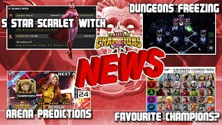 5* Scarlet Witch Possible? Rhino Bugged, Next Arena and More [MCN]